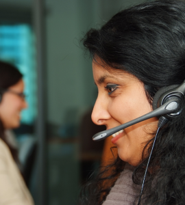 teleconseiller en call center